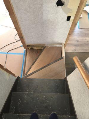 階段位置変更
