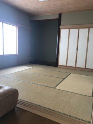 8帖畳 和室