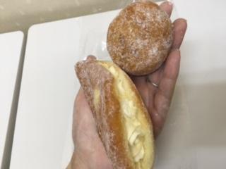 朝日堂さんのドーナツ