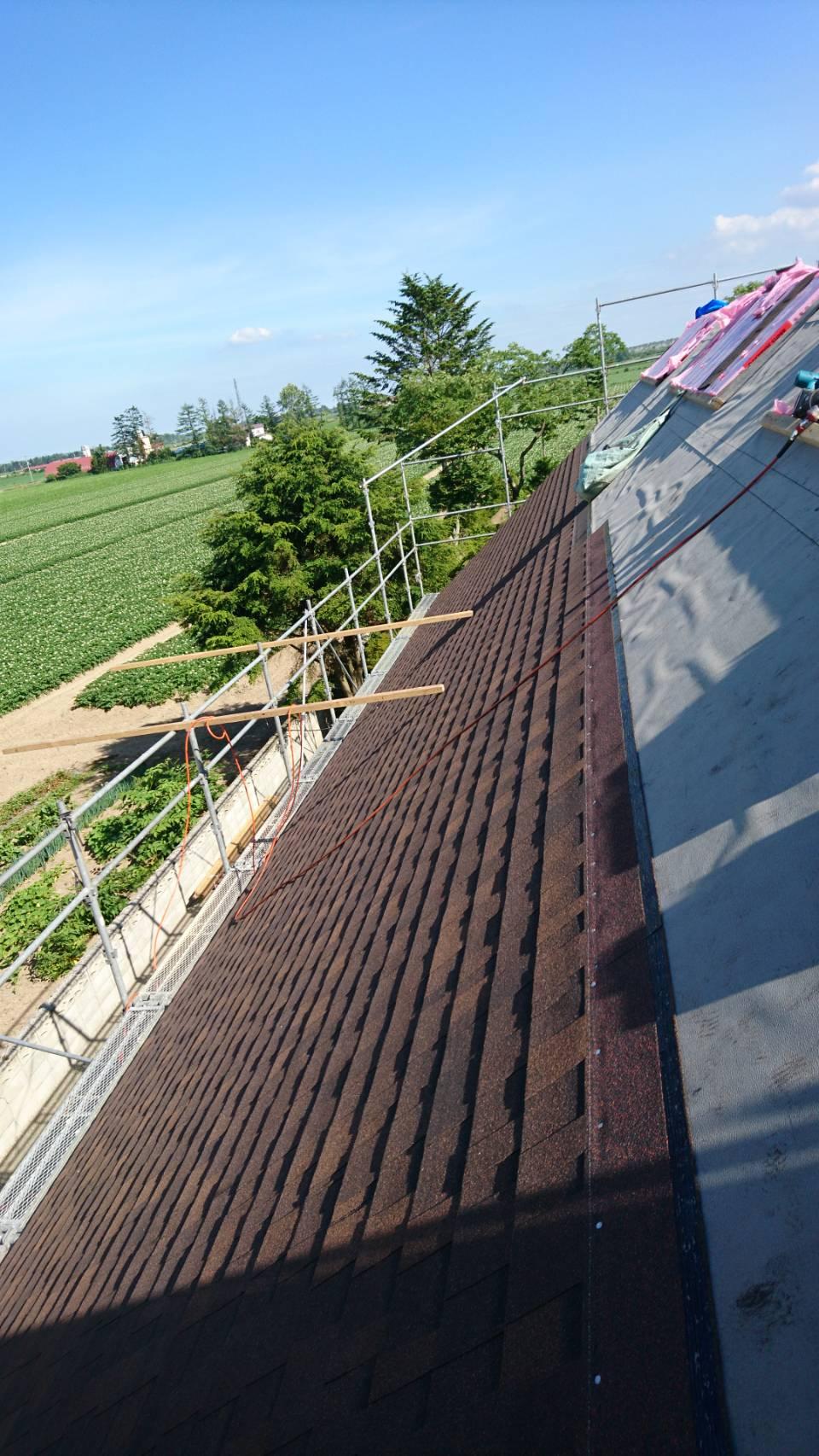 シングル屋根