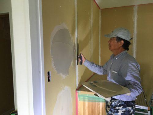 十勝 帯広 塗り壁