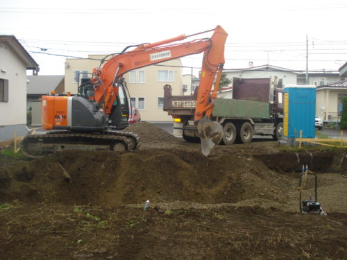 根掘り工事