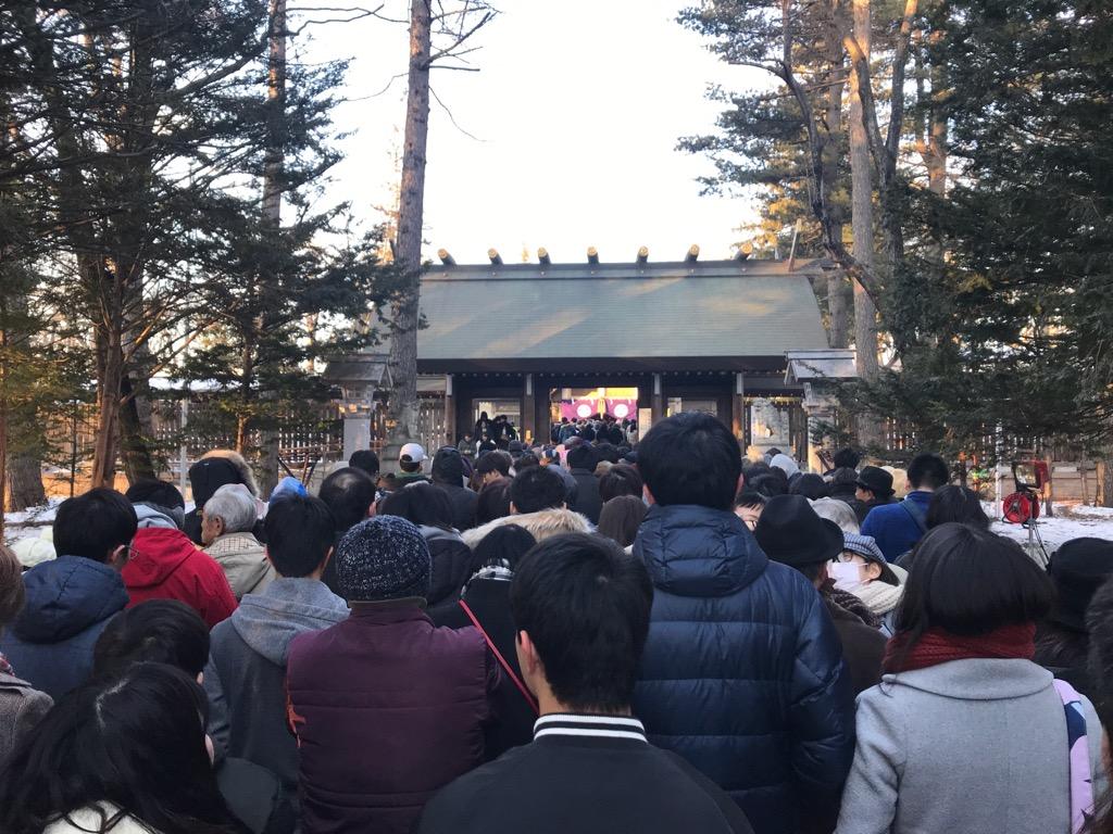 帯広神社 初詣