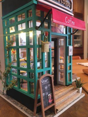カフェ 模型